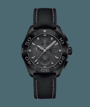 AQUARACER 300M Calibre 16 Автоматический хронограф «Phantom» черного цвета 43 MM