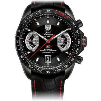 TAG HEUER GRAND CARRERA CALIBRE 17 RS2 Автоматический xронограф 43 мм