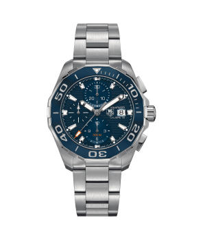 AQUARACER 300M Calibre 16 Automatic Chronograph 43 MM Ceramic Bezel