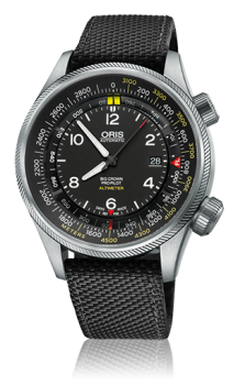 Oris Big Crown ProPilot Altimeter шкала в метрах