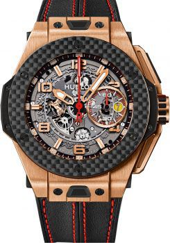 Big Bang Ferrari King Gold Carbon 45mm