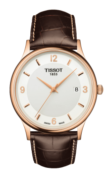 TISSOT ROSE DREAM QUARTZ GENT GOLD & STEEL
