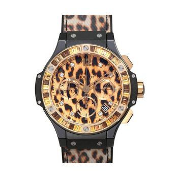 Big Bang 41mm Leopard Ceramic Red Gold