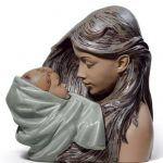 Фарфоровая статуэтка Нежная забота