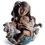 Фарфоровая статуэтка Счастливое материнство