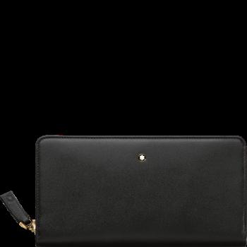 Бумажник 8сс Meisterstück удлиненной формы на молнии