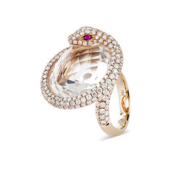 SNAKE HAUTE COUTURE RING