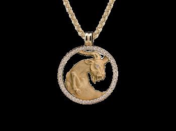 Ожерелье BIG CAPRICORNIO