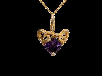 Ожерелье SNAKE HEART