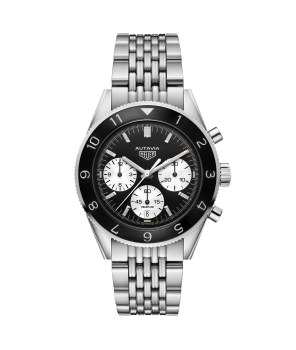 AUTAVIA Calibre Heuer 02 Automatic Chronograph 42 mm