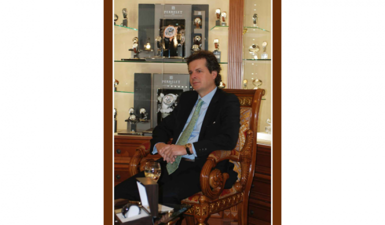 Визит представителя компании luxury products international жерома бийара в город сочи