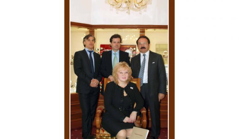 Визит представителя компании luxury products international жерома бийара в город сочи салон