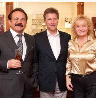 Визит президента Parmigiani Fleurier и основателя марки Мишеля Пармиджани в Сочи салон «Имидж»